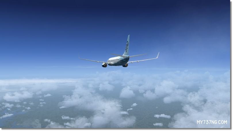 Example of the different types of clouds and haze layers with REX4   Texture Direct