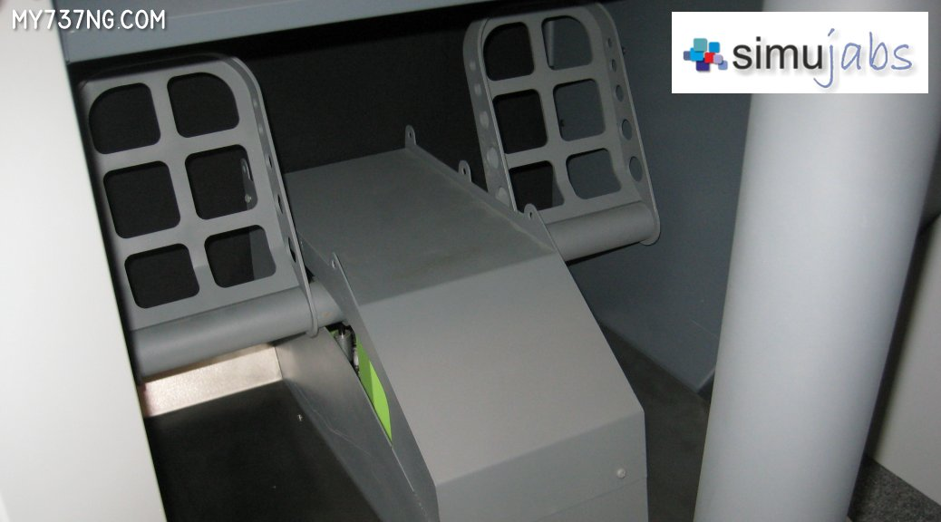 Simujabs B737 Rudder Pedals