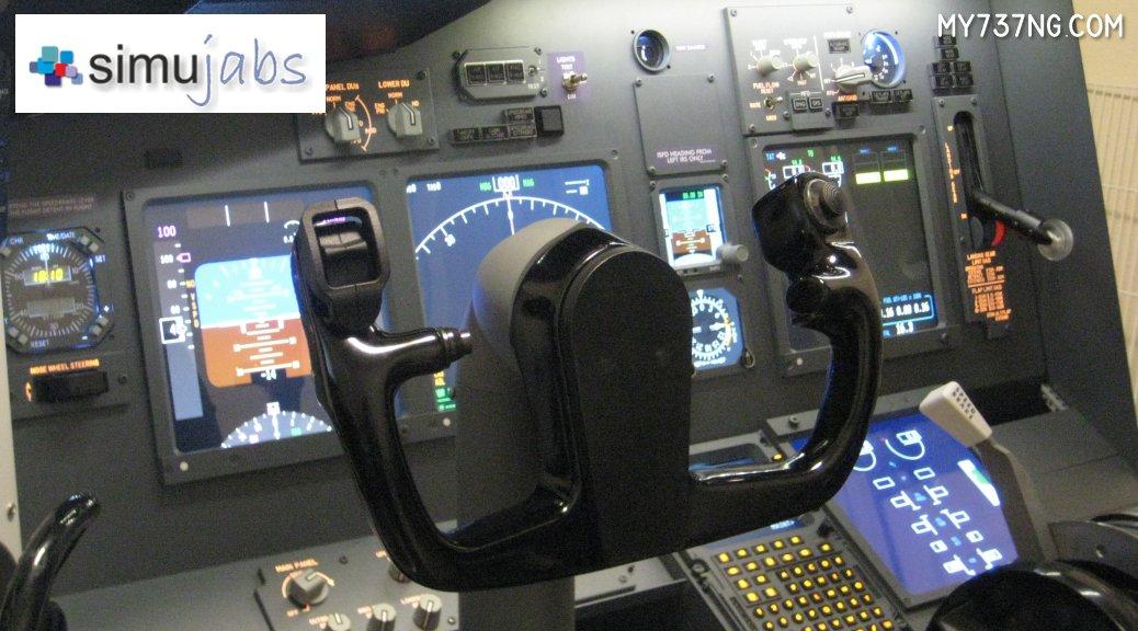 Simujabs B737 Single Yoke Control Column