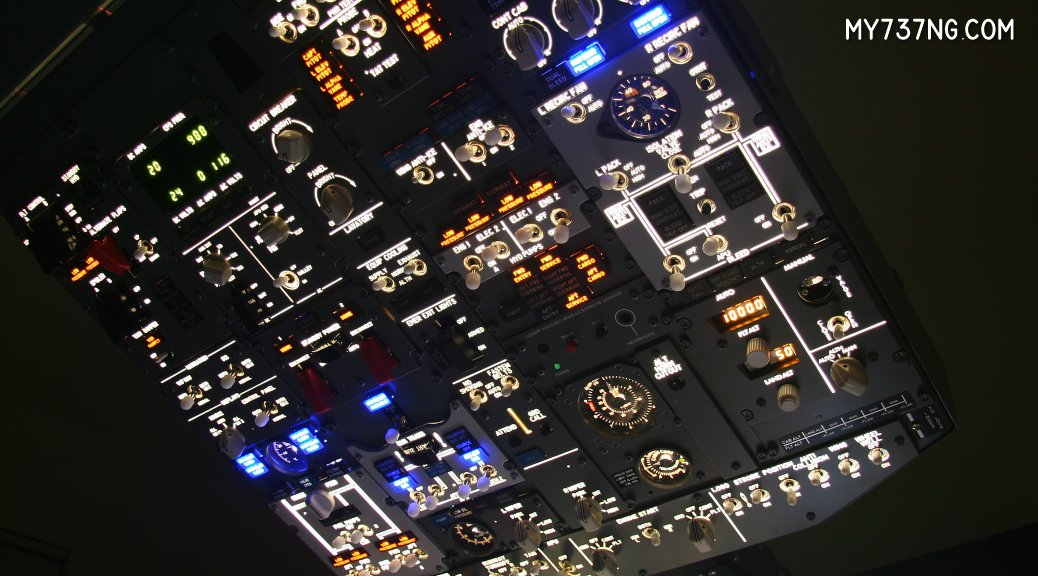 CPFlight 737 Forward Overhead Panel