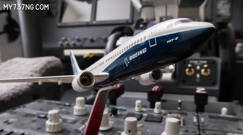 The new Boeing 737-8 MAX